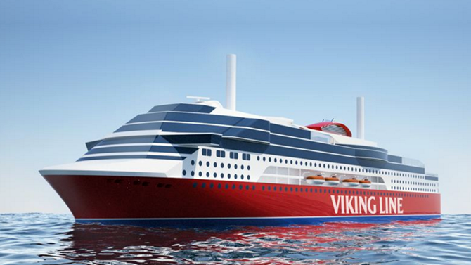 Viking Line Places Conditional Cruiseferry Order with Xiamen