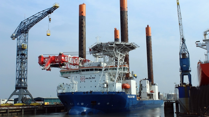 Damen Completes Repair Work on TSHD Leiv Eiriksson
