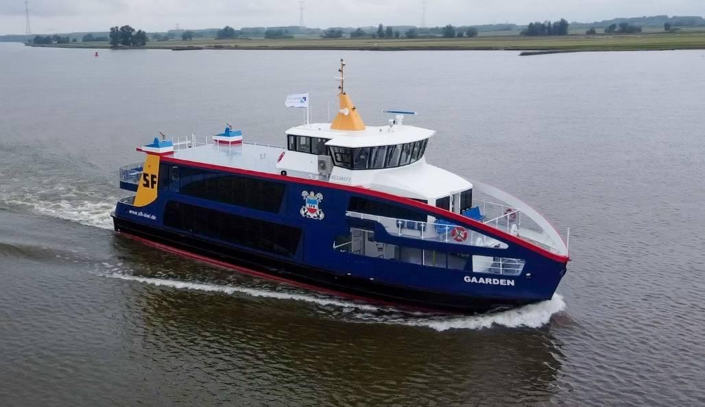 Holland Shipyards Group delivers hybrid ferry