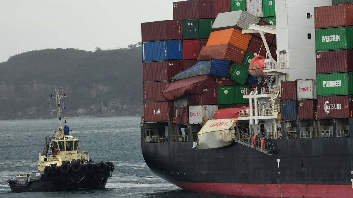 Australian Maritime Safety Authority works on cargo securing
