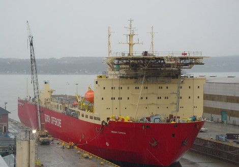 Canada's Davie becomes the leader of icebreaker launch