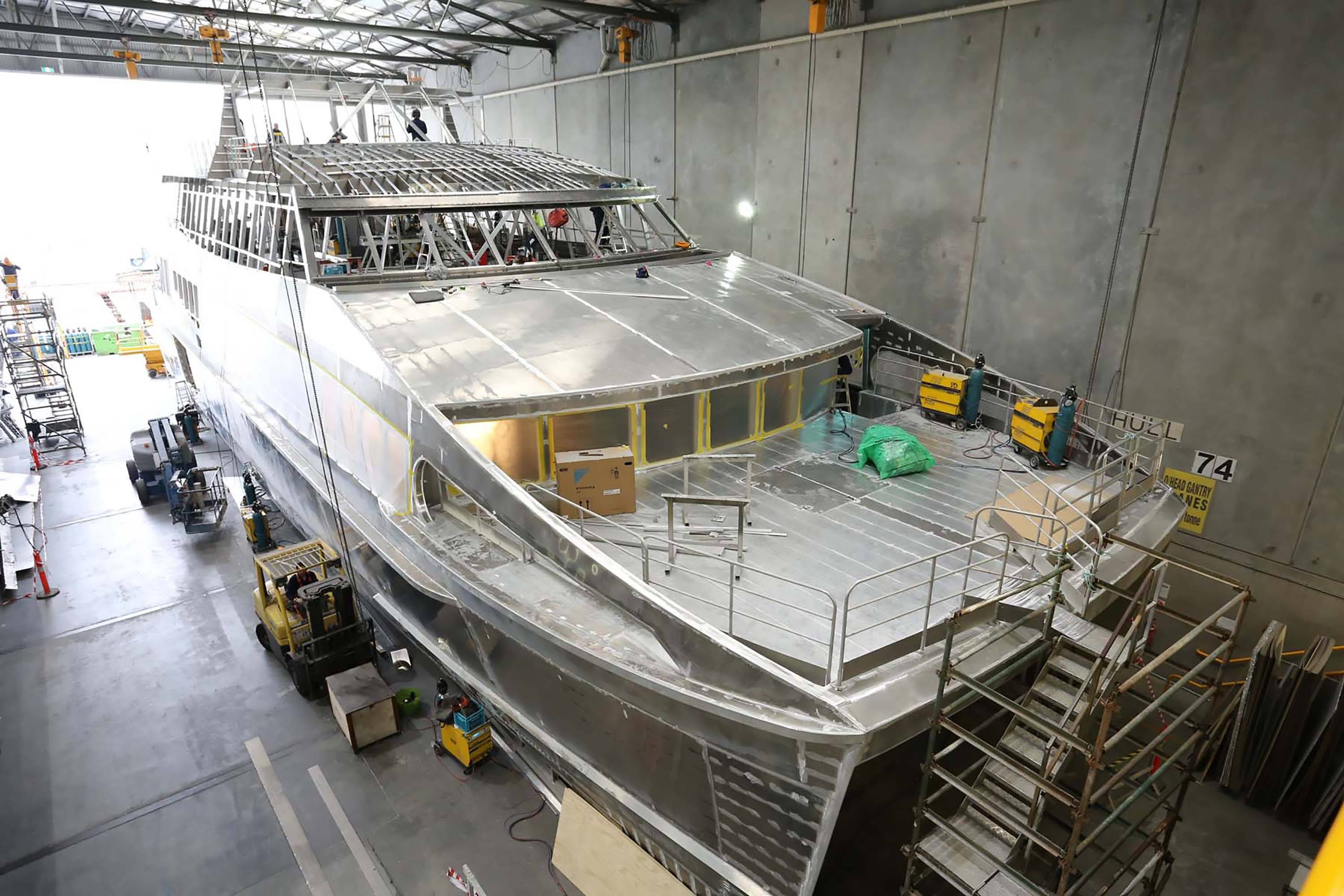 RDM builds new catamaran to be launched for World Heritage Cruises