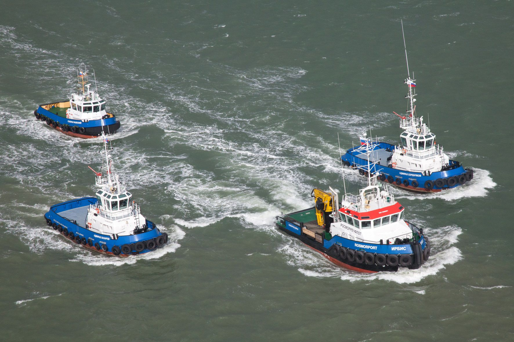 Rosmorport plans to add its fleet 24 new vessels