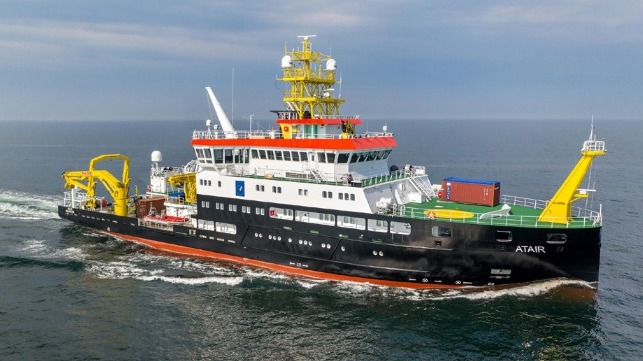 Sanmar delivers another tug to Latvia