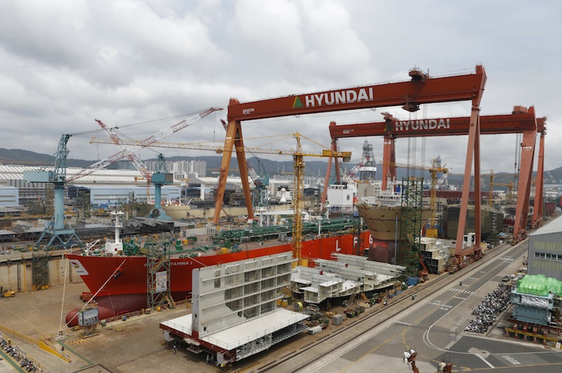 South Korean shipyards highlight orderbook success