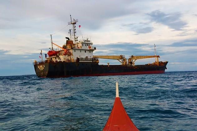 Vietnamese ship runs aground off Philippines due to sleeping officer