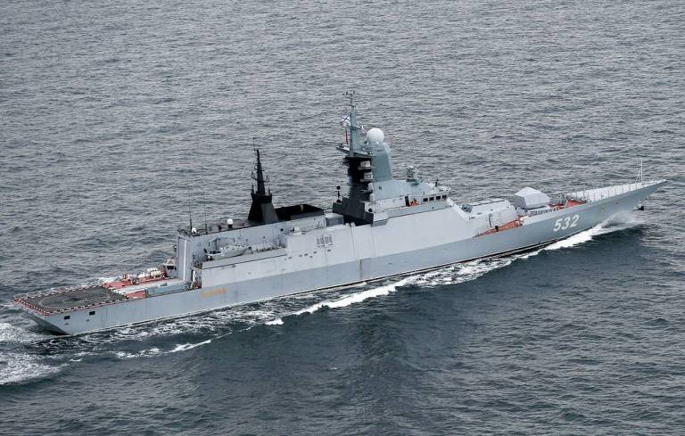 Russian Navy completed Oceanic Shield 2020 exercise