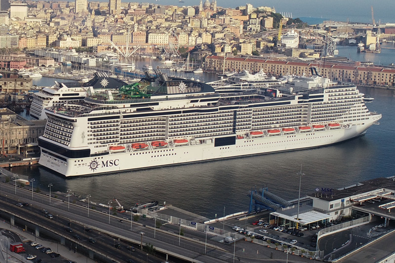 Italy's first post-COVID-19 cruise departs from Genoa