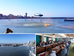 Caspian Sea States cooperate on pollution response