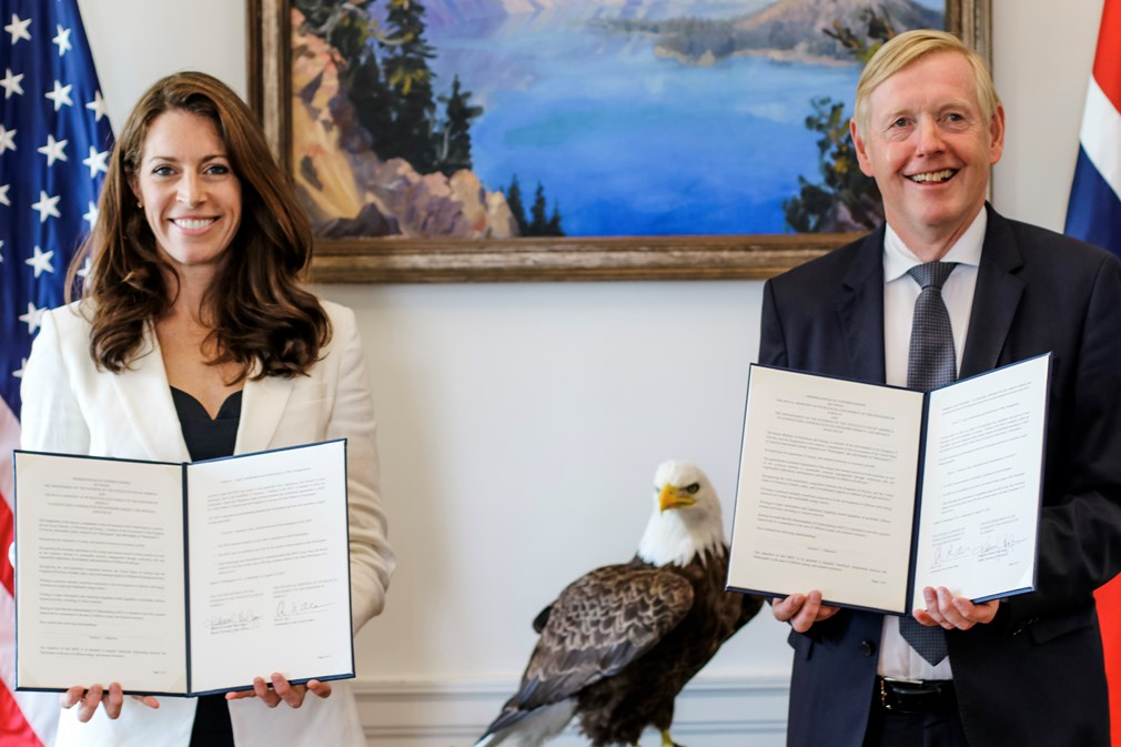 Norway and U.S. to start offshore energy partnership