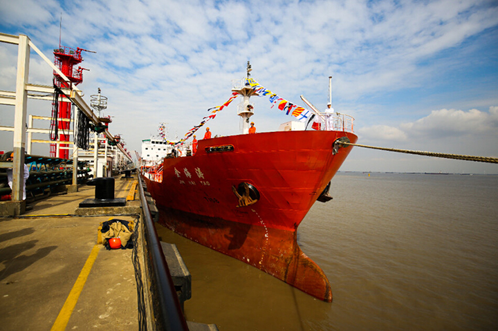 Cosco Shipping Group to receive chemical tanker pair from China