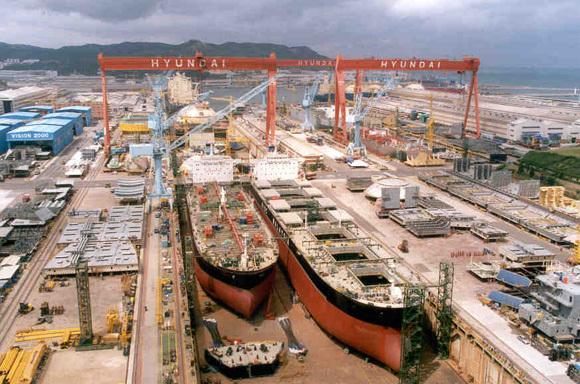 Bahri orders ten tankers at Hyundai Mipo Dockyard
