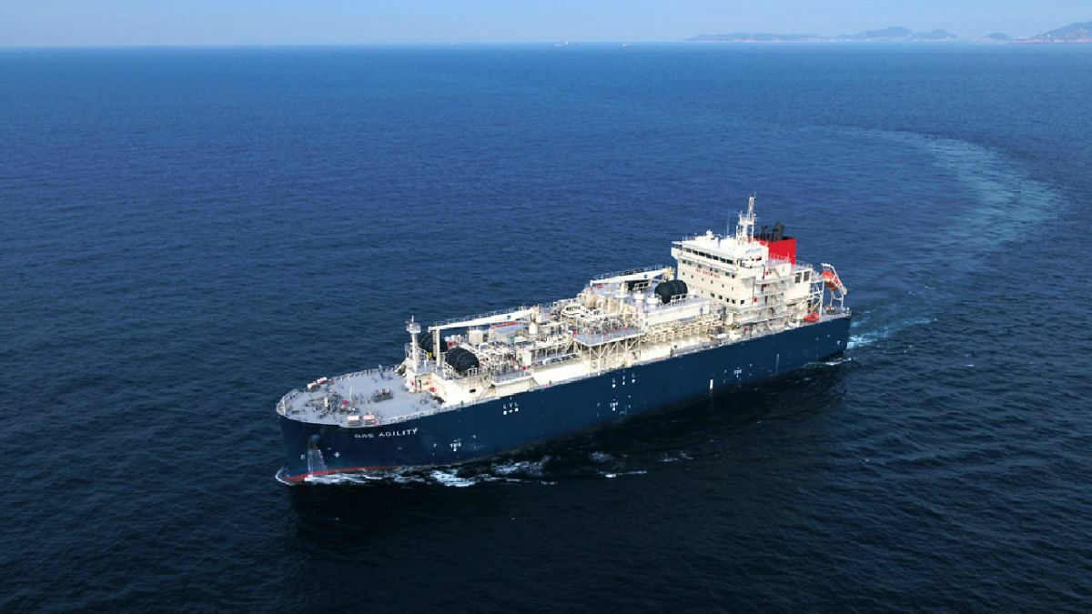 Largest LNG bunkering ship arrives in Rotterdam