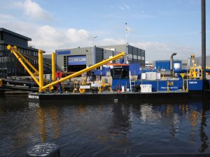 Cutter Suction Dredger 350 delivered to Heuvelman Ibis