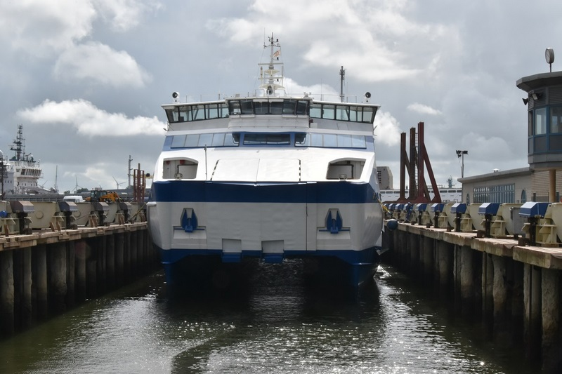 Damen completes repairs on Vlieland Ferry
