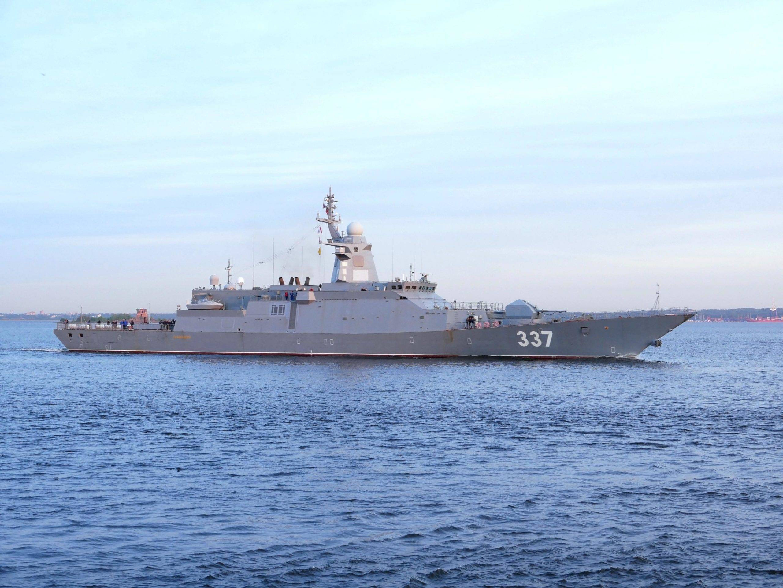 Severnaya Shipyard to launch 2 corvettes for Russian Navy