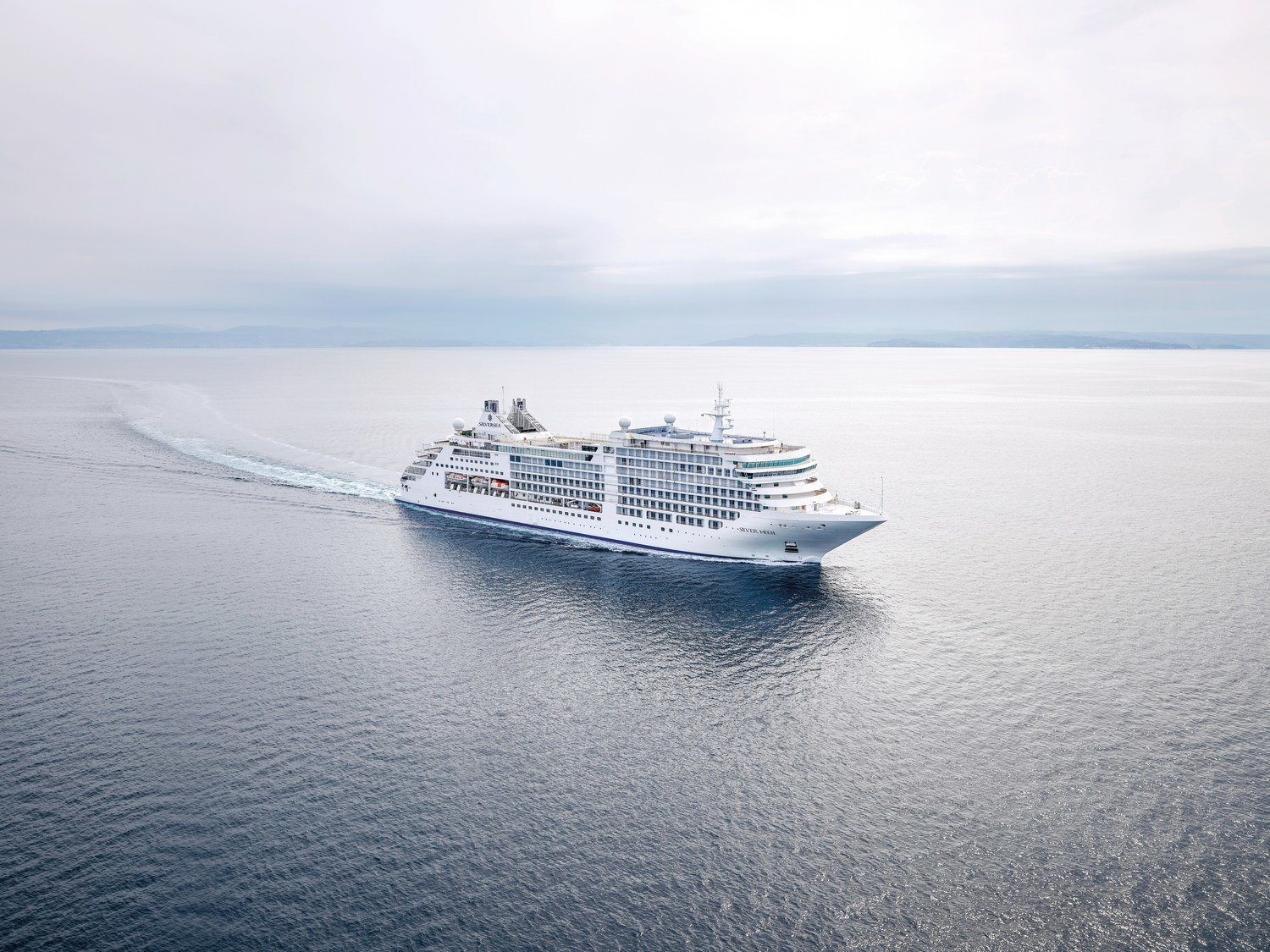 Newest cruise ship of Silversea completed its sea trials