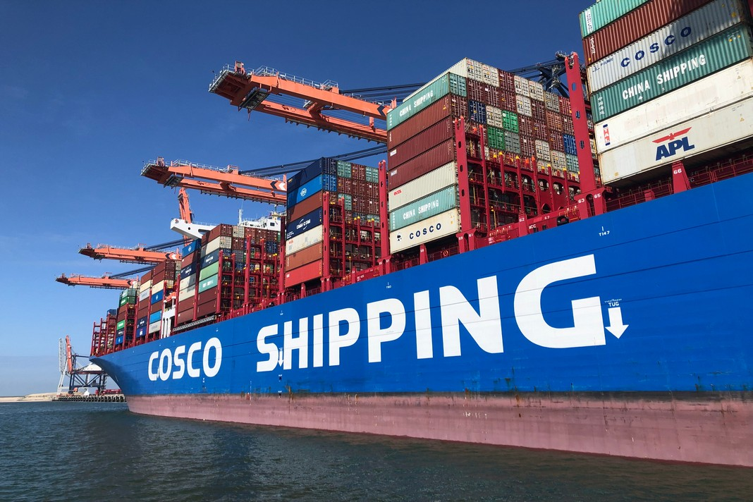 COSCO aims growth despite COVID-19 pandemic