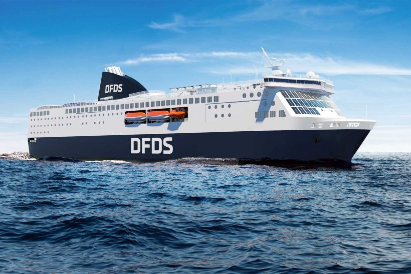 DFDS aims to reach carbon neutrality by 2050