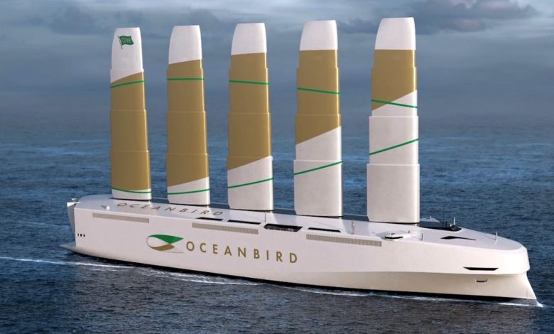 Swedish consortium unveils new wind-powered car carrier project