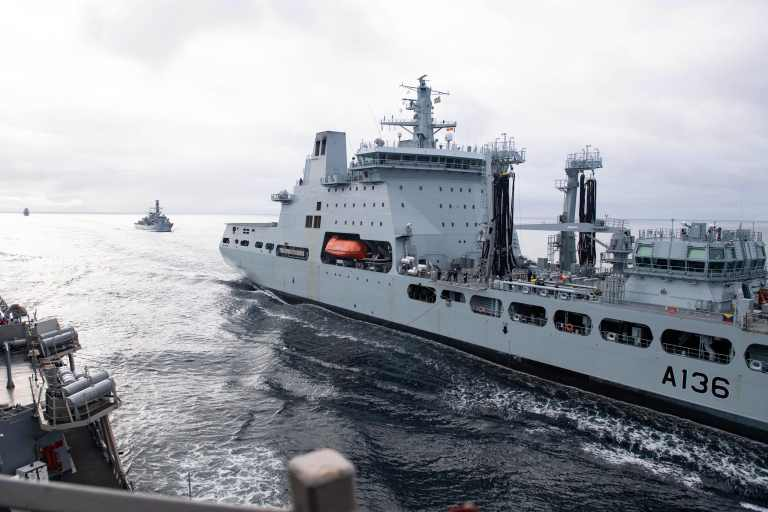 Ships from Norway, the U.S. and U.K. to conduct training