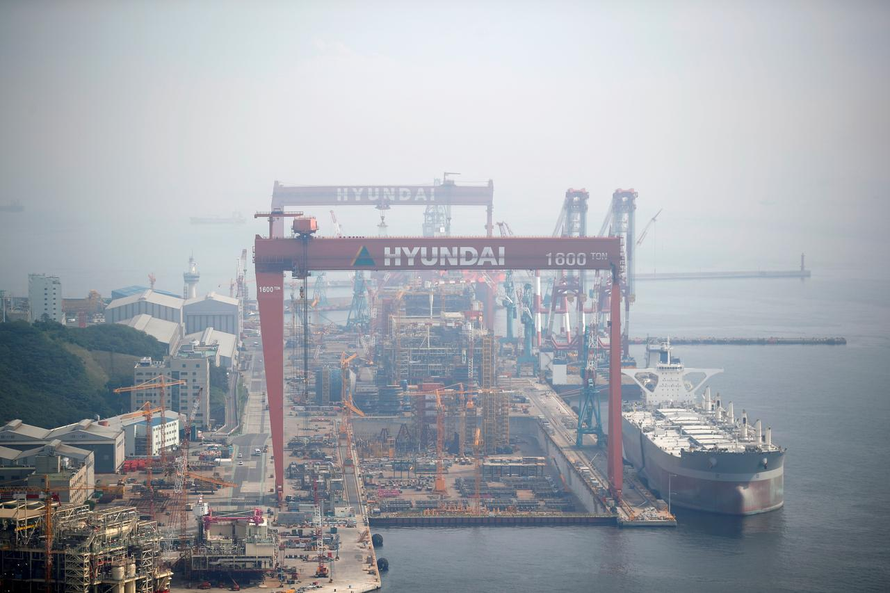 Korean merger of Hyundai and Daewoo dominates shipbuilding sector