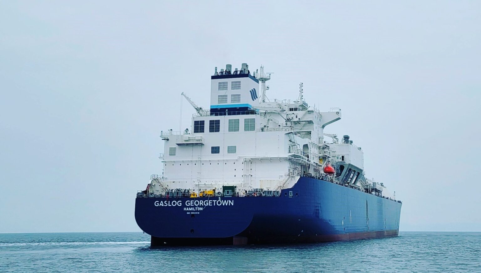 GasLog's LNG newbuild starts sea trials in South Korea