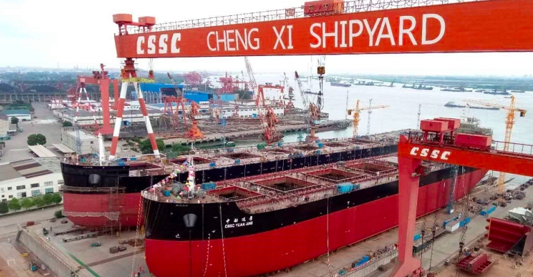 Chengxi Shipyard receives orders for 4+4 bulk carriers