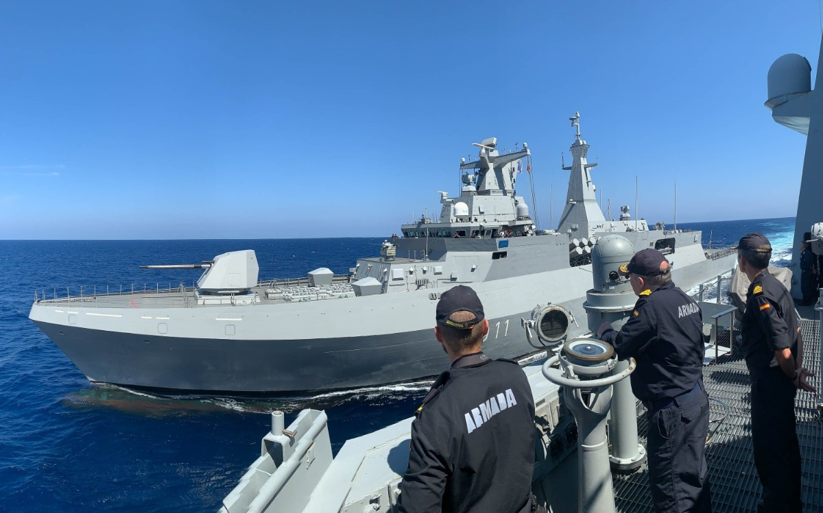 NATO conducts maritime drills with Algerian Navy