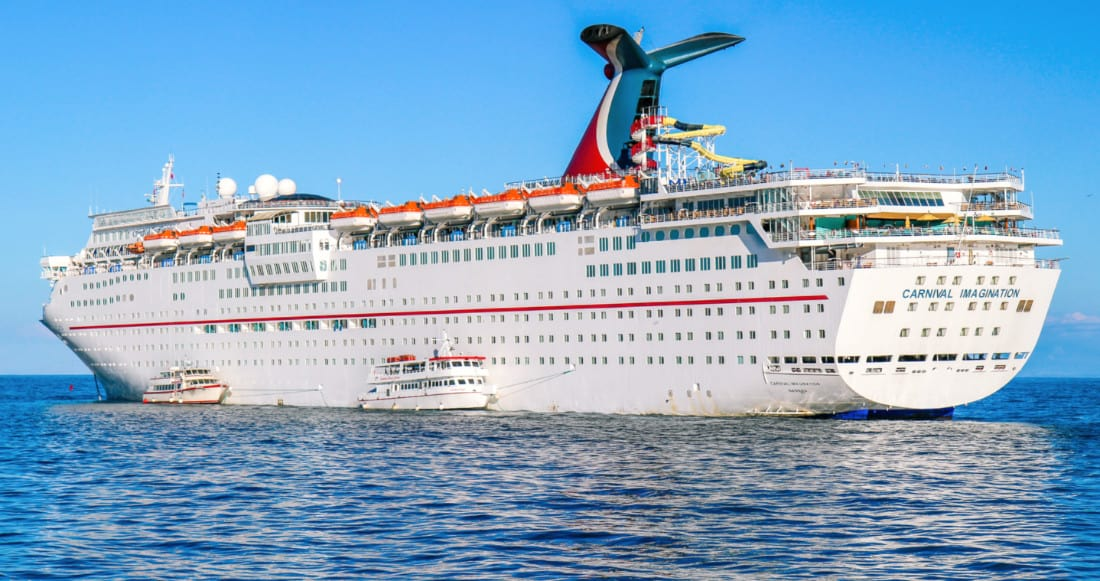 Carnival Imagination arrived Turkey for scrapping
