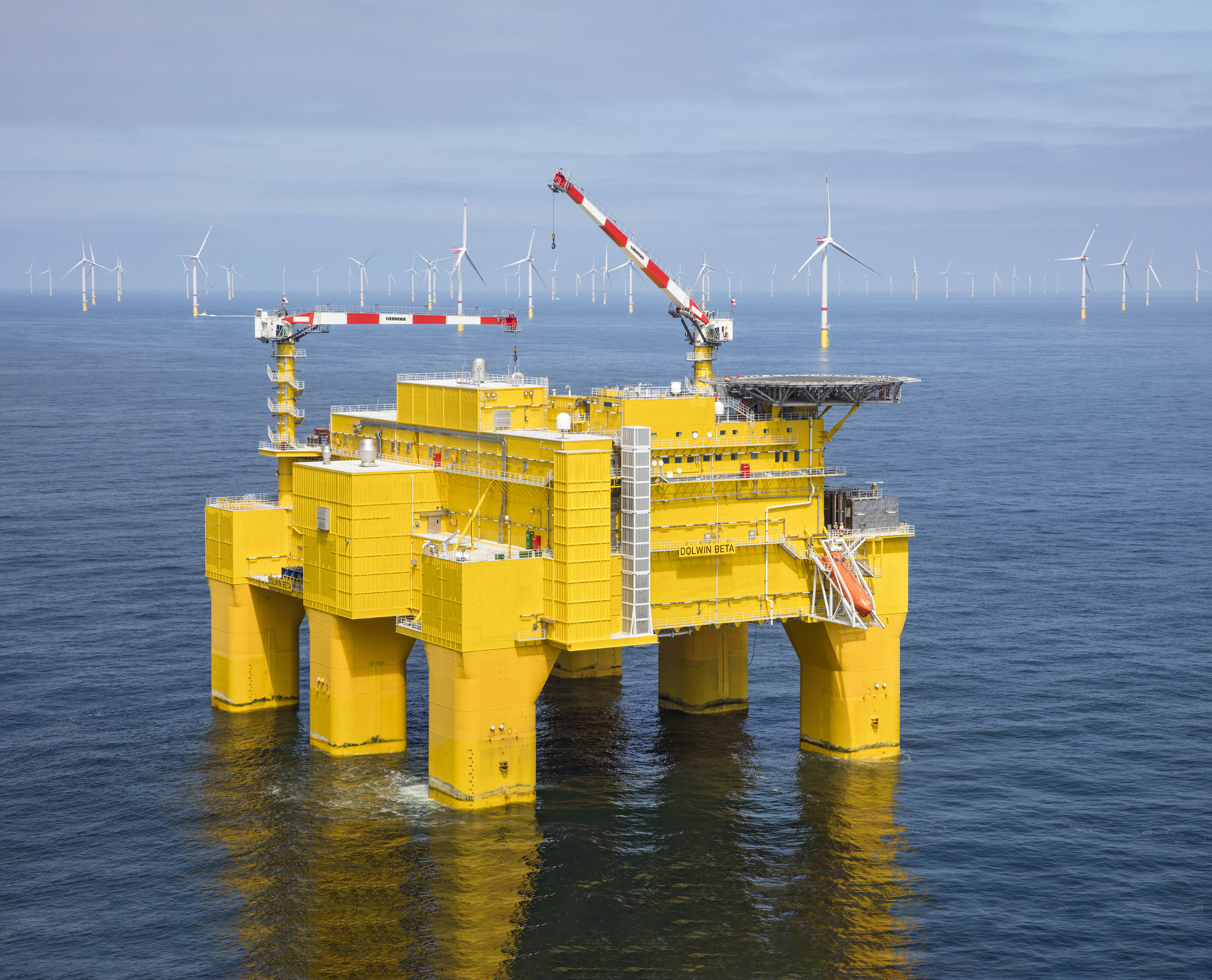 Liebherr crane selected for offshore converter station