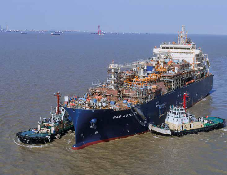 World's largest LNG bunkering ship arrived to Rotterdam