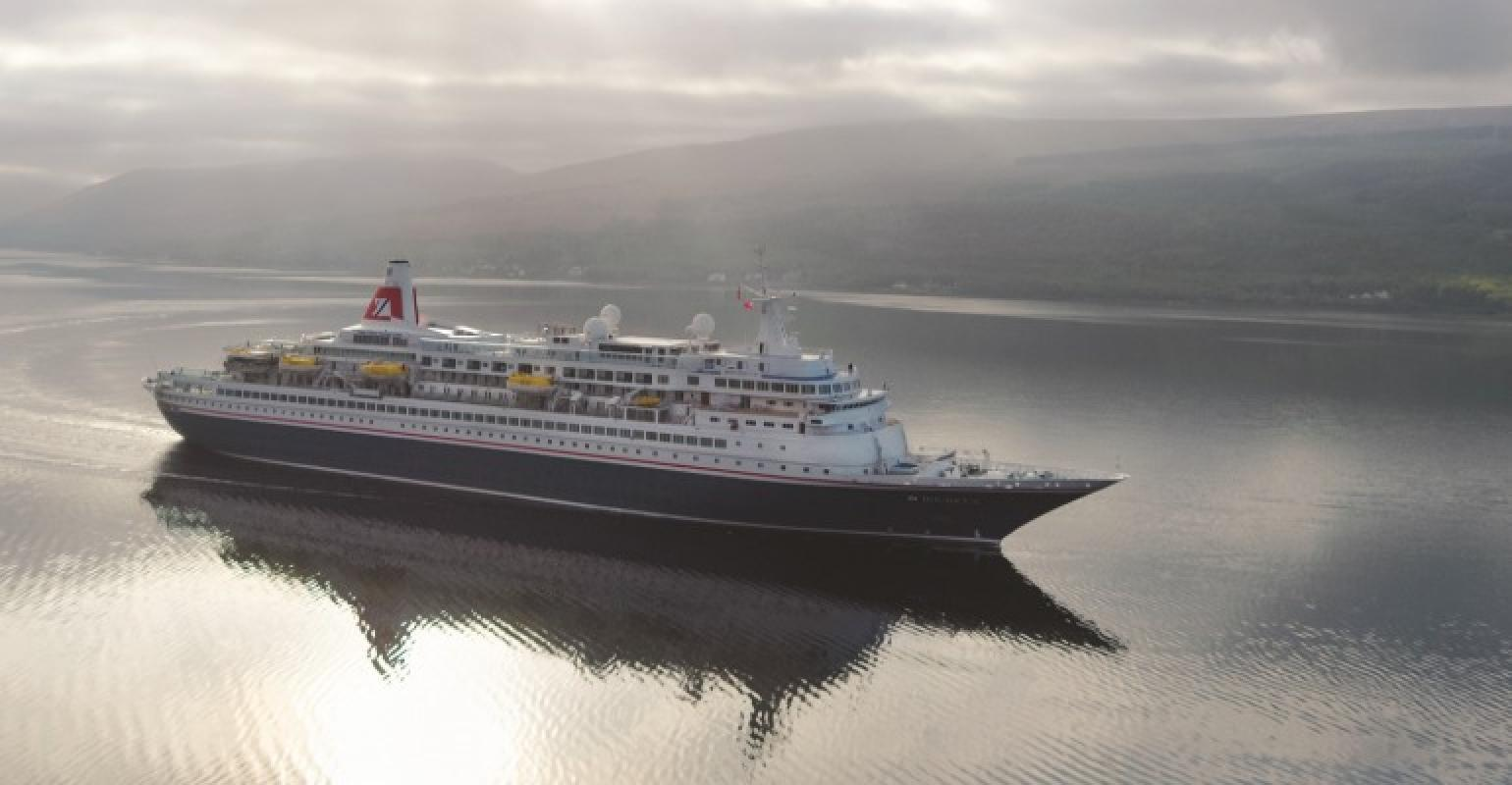 Fred Olsen Cruise Lines' new ships arrive in Rosyth