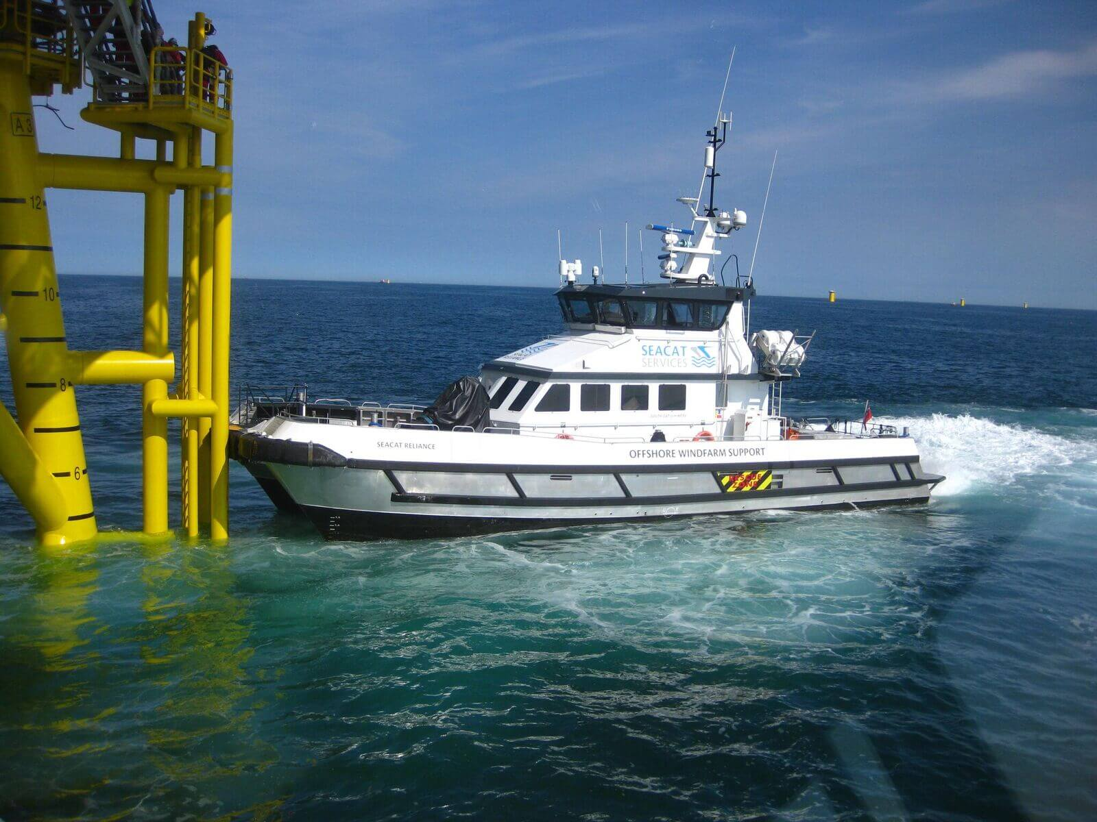 Seacat orders two next-generation crew transfer vessels
