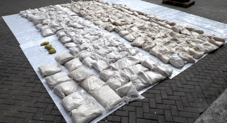 More than 1 tonne of drugs found in Maersk Sembawang