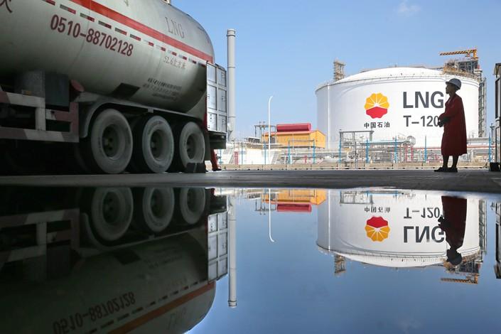 LNG imports of China increased