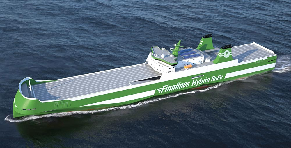 Finnlines secures loan of EUR 30 million for hybrid cargo vessels
