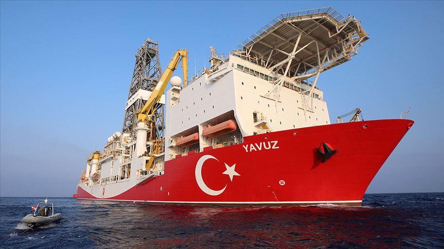 Turkish drillship returns to country after operating off Cyprus
