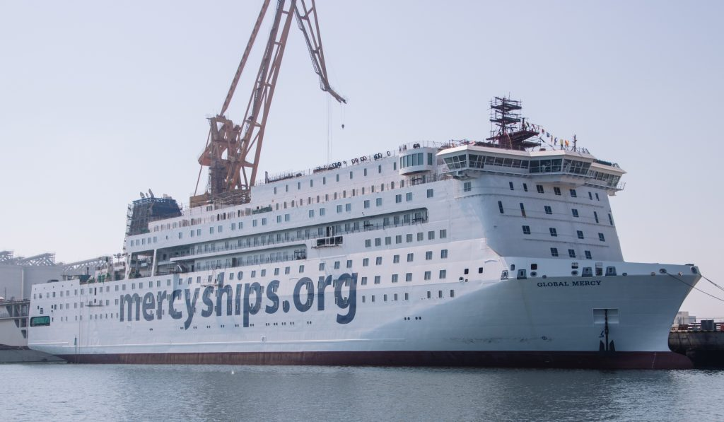 World's largest civilian hospital vessel nears delivery