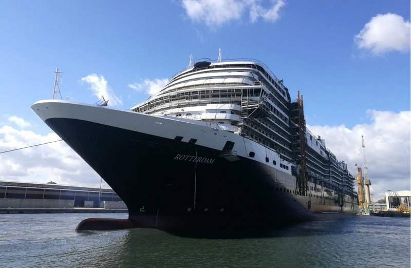 Holland America Line's  new vessel floats out at Fincantieri