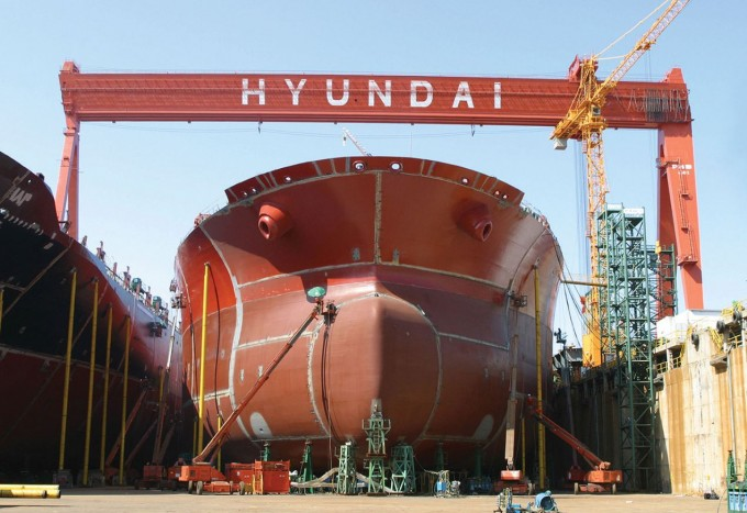 Korean shipbuilders pass their Chinese rivals again
