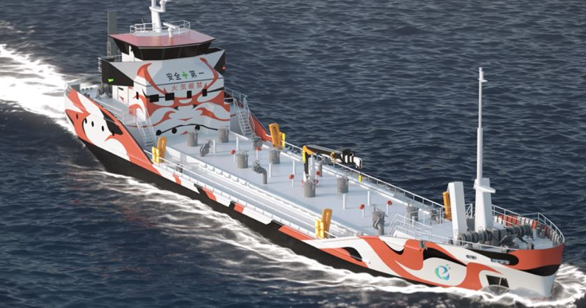 Asahi Tanker Co orders world's first zero-emission tanker pair