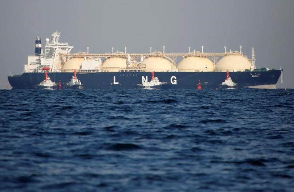 Japan's prices of LNG recover in september