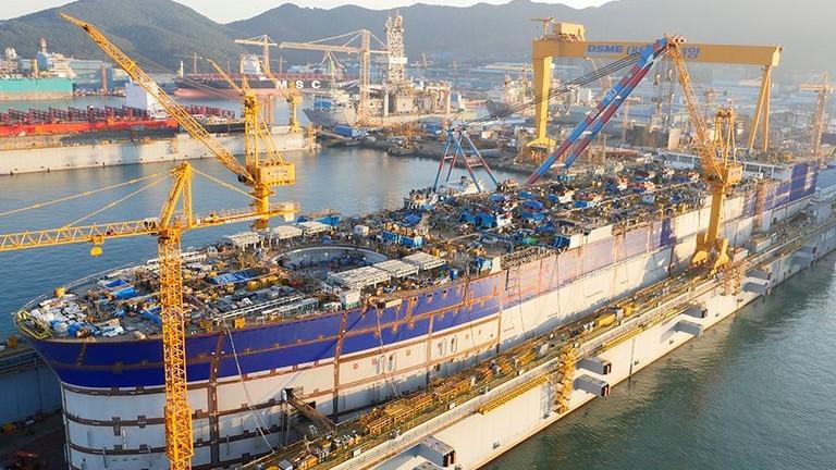 Daewoo receives $1.7 bln LNG carriers order