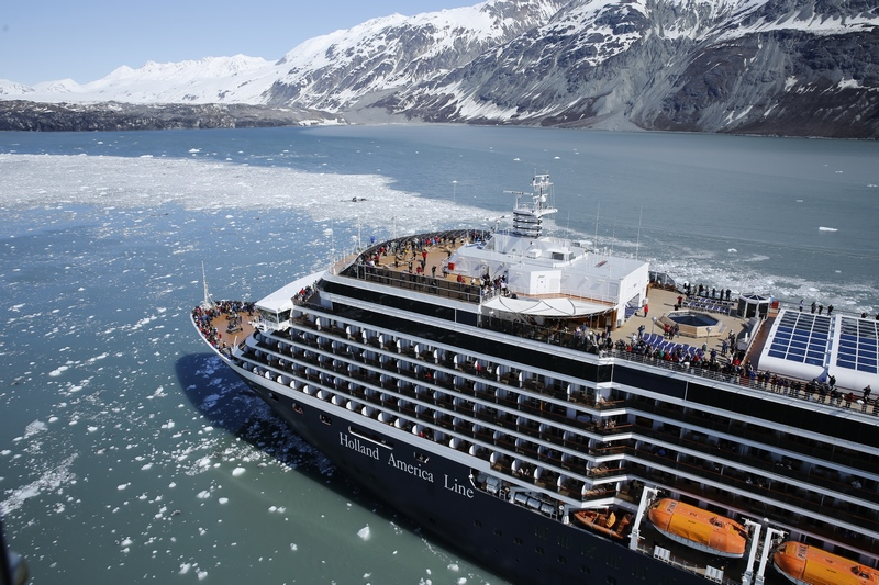 Six Holland America vessels to visit Alaska in 2021