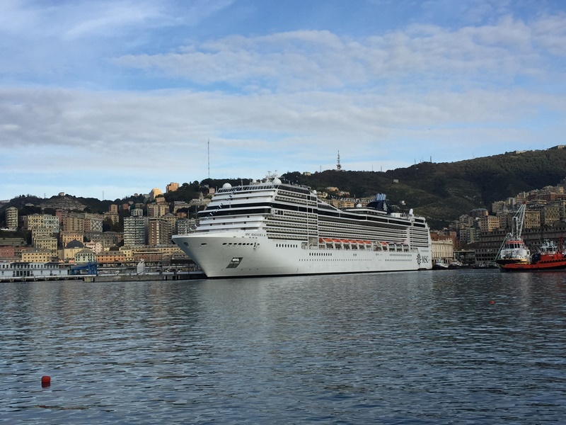 MSC Magnifica successfully departed from Italy