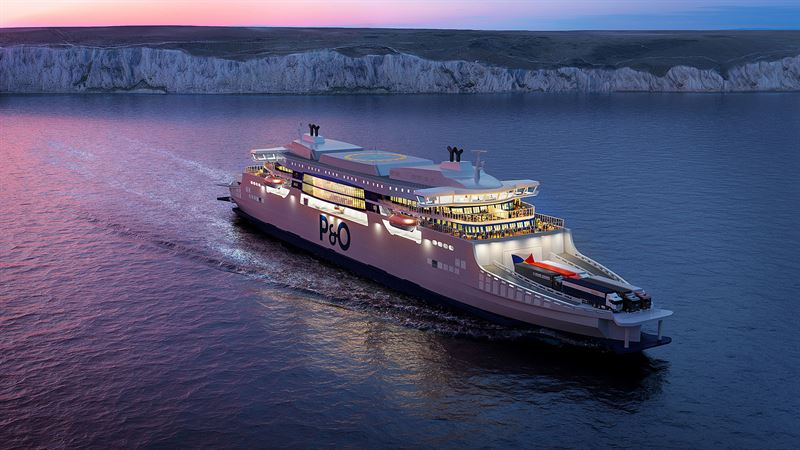 "P&O Ferries works with Wärtsilä engines for ""super ferries"""