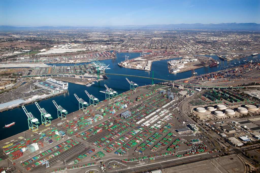 Los Angeles Port receives  $9.9 million development grant