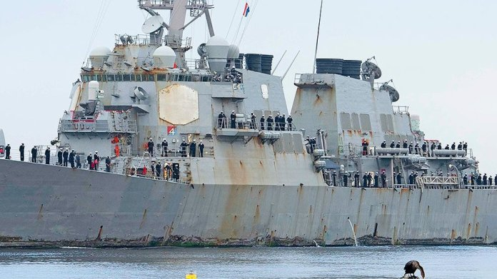 USS Stout returns home after 7 months of deployment