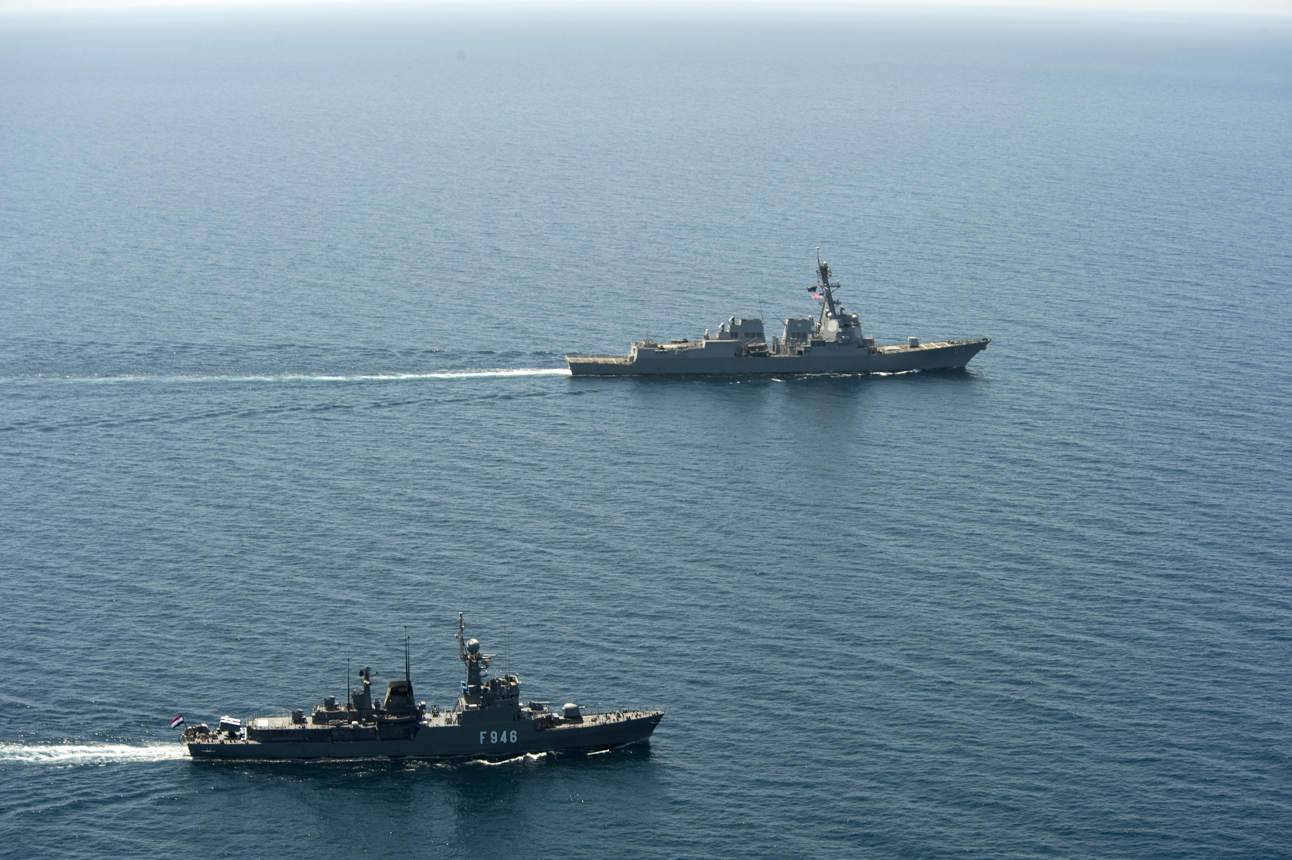 Egypt and Spain conduct naval exercise in Red Sea
